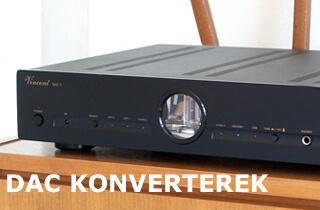 DAC konverter, D/A konverter