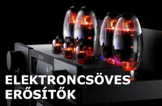 elektroncsöves audiophile high-end erősítők