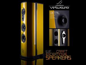 High-end készülékek, erősítők, sztereó hangfalak