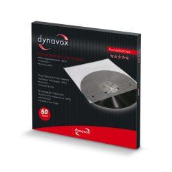 Dynavox hanglemez tasak - antisztatikus 50db/szett