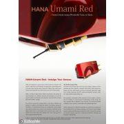 Hana Umami RED alacsony jelszintű High-End MC hangszedő - MicroLine