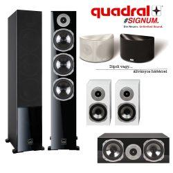 Quadral SIGNUM 90 5.0-ás házimozi hangfal szett választható háttérrel