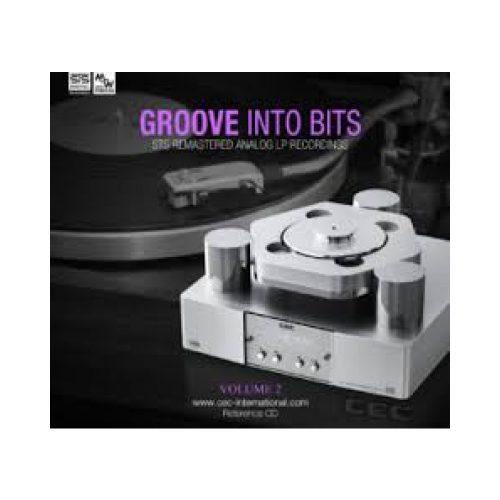 STS Digital Groove into Bits vol 2. audiophile CD lemez