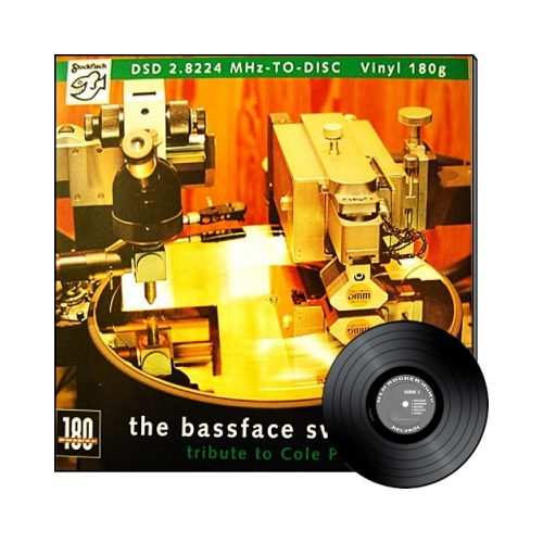 """Stockfisch Records - the bassface swing trio - Tribute to Cole Porter LP 180g """""""