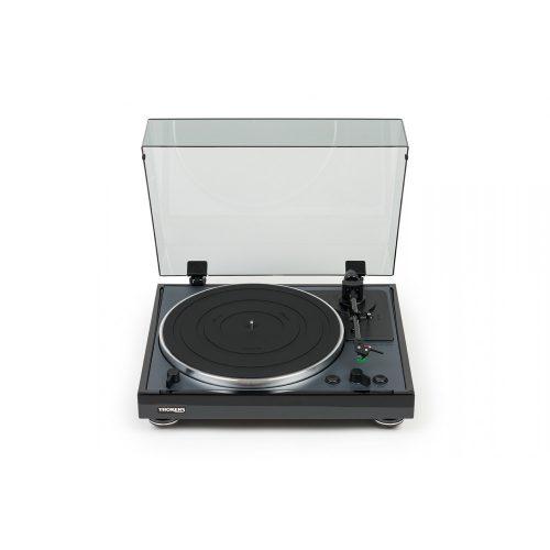 Thorens TD 102A automata analóg lemezjátszó - fekete