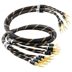 Vincent Audio Audiophile szerelt BI-WIRE hangfal kábel 2x3 méter