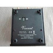 Vincent Audio PHO-200 Audiophile MM/MC phono fokozat fekete