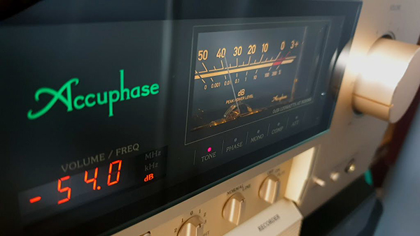 Accuphase E-380 High-end sztereó erősítő teszt - hangzasvilag.hu