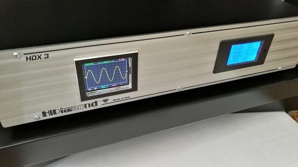Hidiamond HDX3 hálózati táp kondicionáló és szűrő teszt