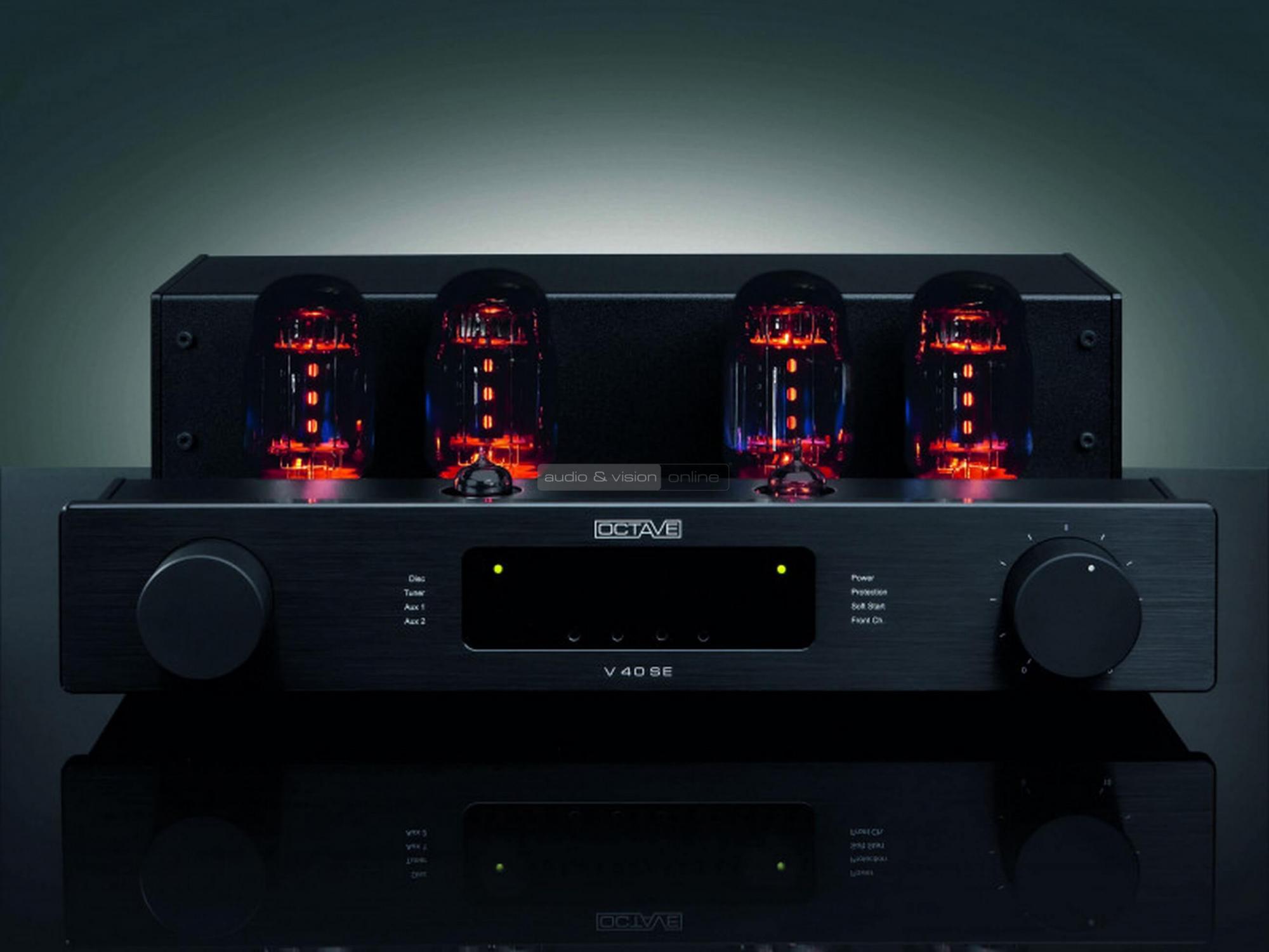 Octave Audio V40 elektroncsöves erősítő teszt - av-online